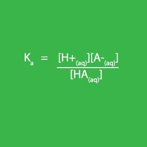 Calculating pH of a weak acid using K